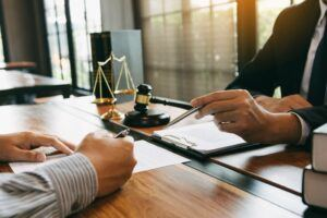 wrongful death attorney meeting